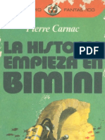 Carnac, Pierre - La Historia Empieza en Bimini