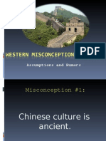 Western Misconceptions of China Final