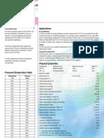 Hoja de Datos R-410a Segun Honeywell