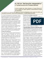 Marzo 2008. Chile Imperativo de Ratificacion del Convenio169