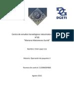 Operacion de paquetes II.docx