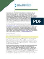 State Sponsorship Packet 2013