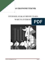 TUGAS EKONOMI TEKNIK