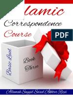 Islamic Correspondence Course Basic Level - Book 3 - Allamah Sayyid Saeed Akhtar Rizvi - Xkp