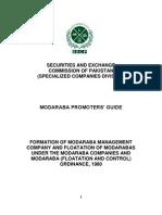 Modaraba PROMOTERS Guidelines