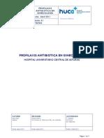profilaxis antibiótica en ginecología
