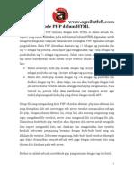 Penulisan Program PHP