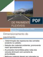 DIMENSIONAMENTO DE PAVIMENTOS FLEXÍVEIS