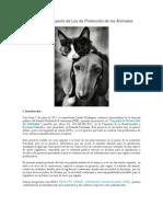 Análisis al Proyecto de Ley de Protección de los Animales