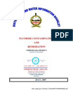 Chhindwara - Fluoride Contamination and Remediation