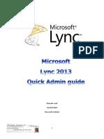 Lync 2013 Admin Guide-En-4all