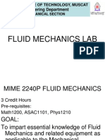 Fluid Lab Expts