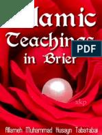 Islamic Teachings in Brief - Allama Tabatabai - XKP