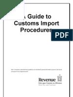 Import Procedures Guide