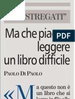 Cos'é la lettura per Paolo Di Paolo - La Stampa 18.06.2013