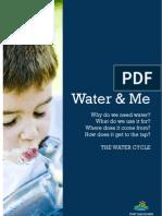 WaterWise Preschool Ed Program - Water and Me