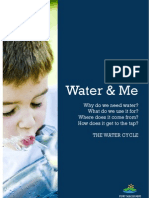 WaterWise Preschool Ed Program - Water and Me