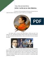 Vida y Obra de Simón Bolívar