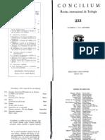 La Biblia y Sus Lectores - Concilium 1991