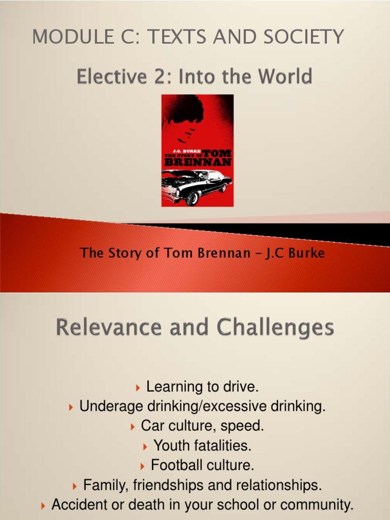 tom brennan slide summary narration narrative rh scribd com Tom Brennan Equestrian Tom Brennan Obituary