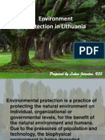 Enviroment Protection in Lithuania_Lukas_jotautas