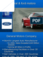 General & Ford Motor