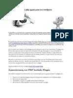 Εκτελέστε αυτόνομα php αρχεία μέσα στο wordpress