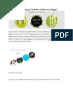 Εντυπωσιακό CSS3 Image Circle Hover Effect για  Blogger