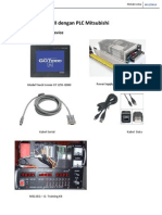 Komunikasi HMI Dengan PLC Mitsubishi