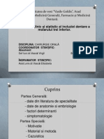 Studiul Clinic Si Statistic Al Incluziei Dentare a(2)