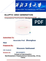 Elliptic Grid -Assignment # 3 (2012420071)-Waseem