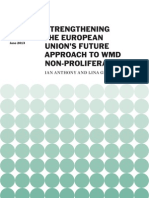 Strengthening the European Union's Future Approach to WMD Non-proliferation
