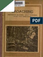 Broaching 1914