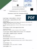 Calendario Lavori Esami Di Stato a.s. 2012-13 II Commissione