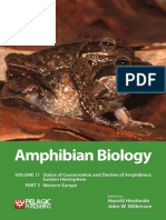 Amphibian Biology Vol. 11 Part 3 Western Europe – Contents and Sample Chapter