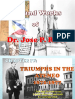 Rizal Life and Works - Chapter 4