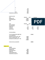Unit3 ProcessCosting Problems