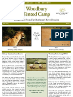 Woodbury Tented Camp Newsletter - June