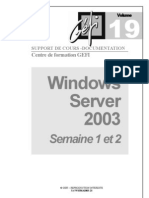 Gefi Support Wserver2003
