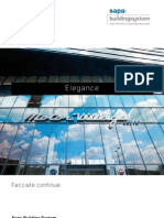 Elegance 52 - Facciate continue - Sapa Building System