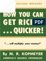 Kopmeyer Marion Rudy - How You Can Get Richer Quicker
