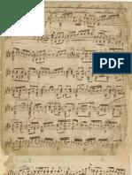 Napoleón Coste - op 13, Caprice sur l'Air espagnol la Cachucha