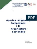 Ecoconstrucciones Aportes Indigenas y Campesinos a La Arquitectura Sostenible
