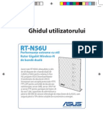 ASUS RT-N56U user's manual for Romanian