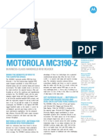 Motorola Mc3190 z