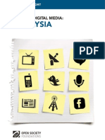Malaysia - Mapping Digital Media
