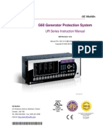 G60 Generator Protection System.