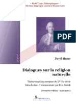 Hume, David - Histoire Naturelle de La Religion