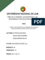Informe Trasmisor Fm Guachizaca Poma Salas