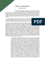 01.Felipe v y Los Historiadores